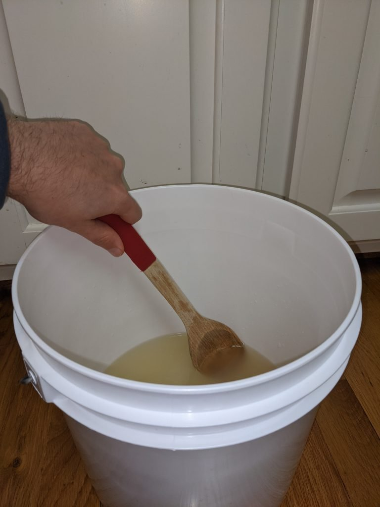 Mixing mead